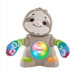 Fisher-Price Linkimals Smooth Moves Sloth – Interactive Educational Toy with Music, Lights, and Motion for Baby Ages 9 Months & Up