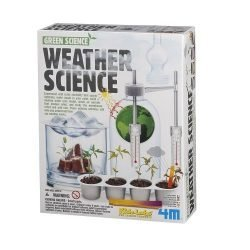 4M Weather Science Kit – Climate Change, Global Warming, Lab – STEM Toys Educational Gift for Kids & Teens, Girls & Boys