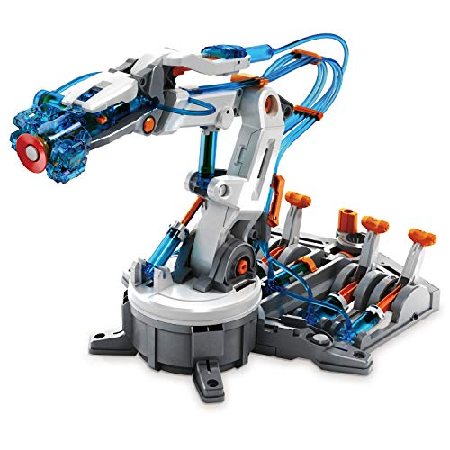 "Elenco Teach Tech ""Mech-5"", Programmable Mechanical Robot Coding Kit, STEM Building Toy for Kids 10+"