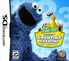 Sesame Street: Cookie's Counting Carnival – Nintendo DS