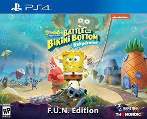 Spongebob Squarepants: Battle for Bikini Bottom – Rehydrated – F.U.N. Edition (PlayStation 4) – PlayStation 4 F.U.N. Edition