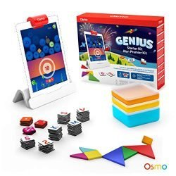 Osmo – Genius Starter Kit for iPad (NEW VERSION) – Ages 6-10 – (Osmo Base Included)