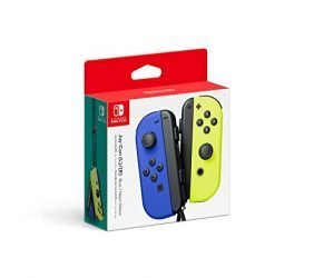 Nintendo Blue/ Neon Yellow Joy-Con (L-R) – Switch