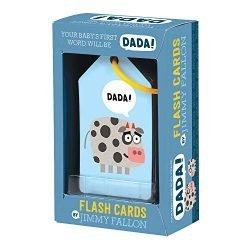 Mudpuppy Jimmy Fallon Your Baby's First Word Will Be DaDa Flash Cards (First Words Flash Cards, for Toddlers, Baby Flash Cards)