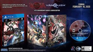 Bayonetta & Vanquish 10th Anniversary Bundle: Launch Edition – PlayStation 4