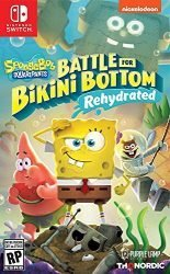 Spongebob Squarepants: Battle for Bikini Bottom – Rehydrated – Nintendo Switch Standard Edition