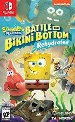 Spongebob Squarepants: Battle for Bikini Bottom – Rehydrated – Nintendo Switch Standard Edition