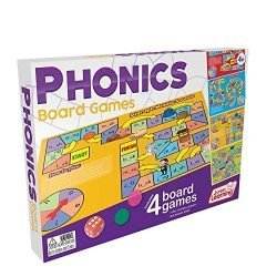 Junior Learning JL422 Phonics Board Games, Multicolor