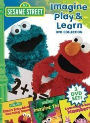 Sesame Street: Imagine, Play, and Learn Collection (Imagine That / Learning About Numbers / Sing Along Guessing Game)