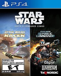 Star Wars Racer and Commando Combo – – PlayStation 4